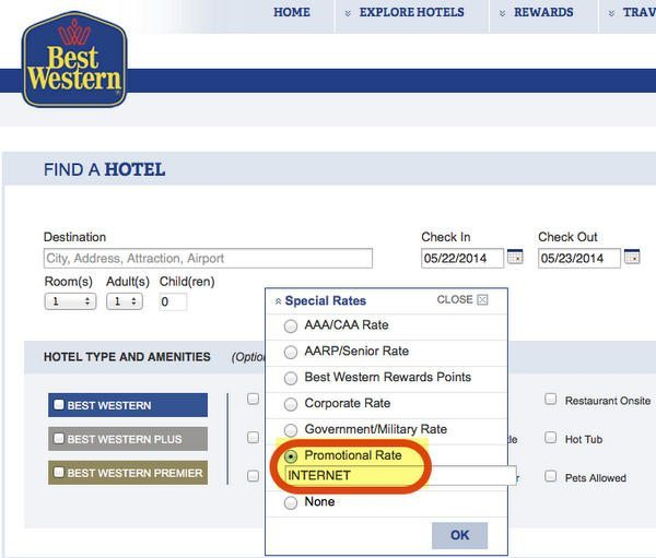Up To 20% Off & Get 1 Night Free At Best Western Hotels Through September 1, 2014