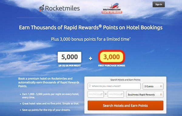 Will the 3,000 Southwest Points From Rocketmiles Count Towards Your Companion Pass?
