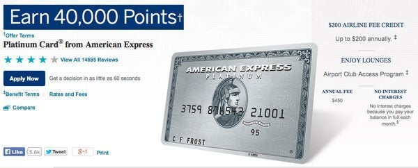 Do you have the card that gets you free unlimited boingo for Mercedes benz platinum amex