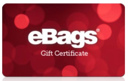 Blog Giveaway 200 In EBags Gift Cards