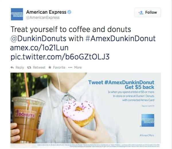 Donuts and More With the Latest AMEX Sync Offers!