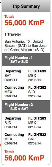 Free Companion Ticket And 20,000 Miles From The AeroMexico Visa Signature Card