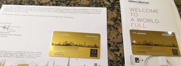 Star Alliance Gold Status Aegean Airlines
