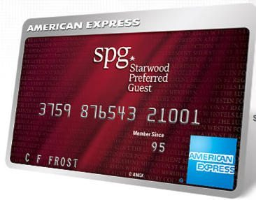 25,000 SPG Points With American Express SPG Personal and Business Cards