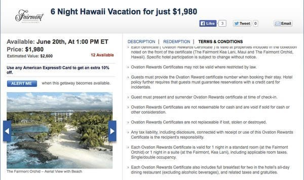 Today Only: Save Big Money On Hawaii & Arizona Vacation Packages At Fairmont Resorts