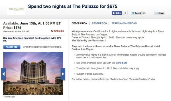 Today Only Save On Las Vegas Packages