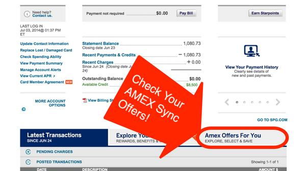 20 Statement Credit When You Spend 20 At Amazon Targeted AMEX Sync Offer