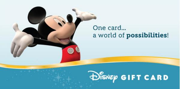 Blog Giveaway: $400 In Disney Gift Cards!