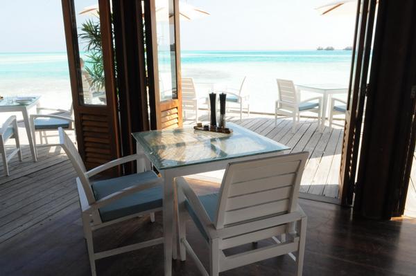 Conrad Maldives Breakfast