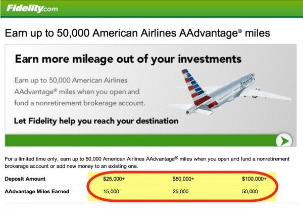 You Can Get 50,000 American Miles From Fidelity