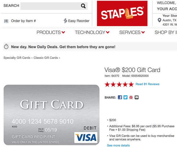 Get $15 Back When Spending $100 on Staples.com With AMEX Offers