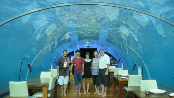Our $27,000 Vacation to the Maldives for ~$4,300 & How You Can Do It Too: Part 11 – Dining Under the Sea