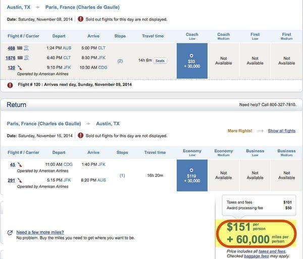 US Airways 100 Buy Miles Promotion Targeted