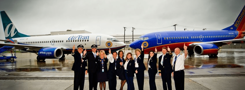 Book Southwest and AirTran Travel Through March 6, 2015