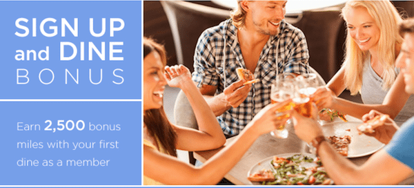 New Members: 2,500 Delta Miles With Delta Dining Program
