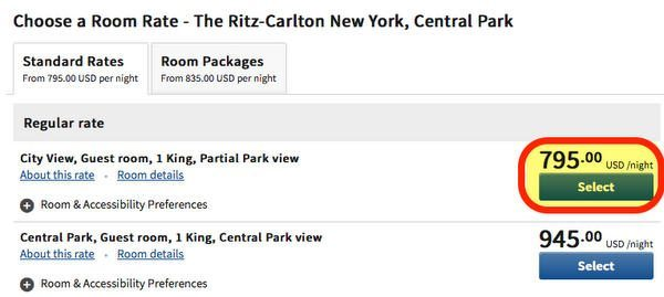Do You Know About The 140000 Points Ritz Carlton Card