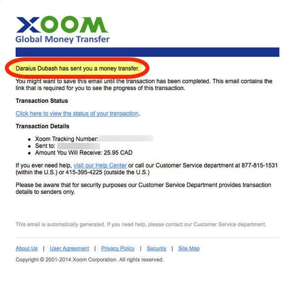 Pleasant Is Xoom International Money Transfer A Good Way To Earn Miles And Wiring Digital Resources Ommitdefiancerspsorg