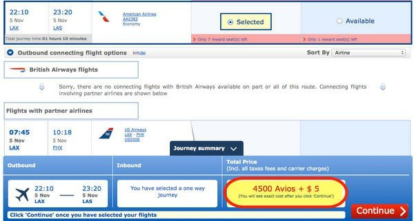 Last Chance For Great Deals Using British Airways Points