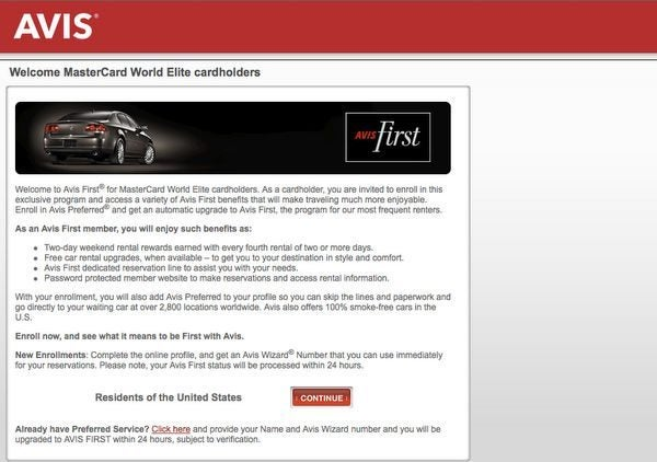 You May Already Have Free Elite Status With Avis And National