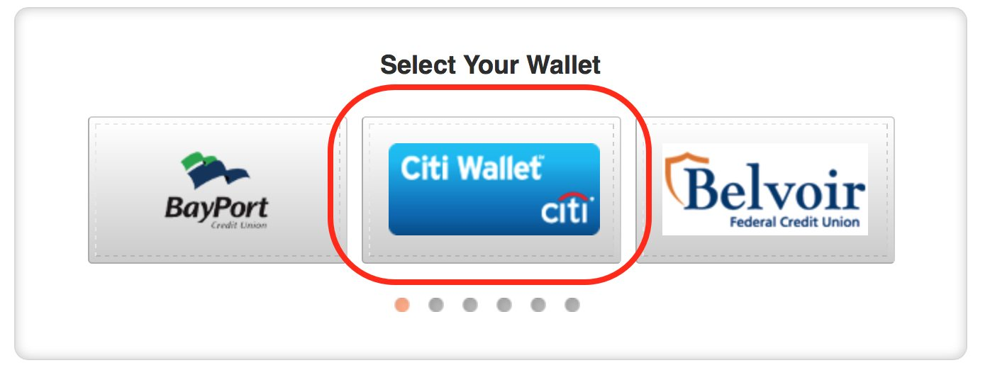 25 statement credit for using citi mastercard