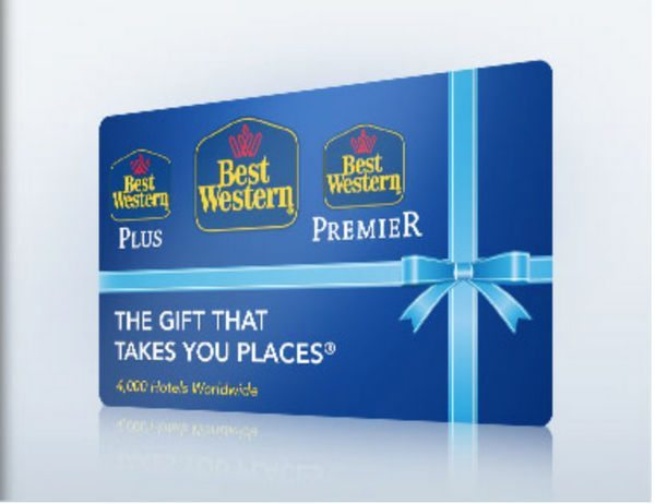 100 Best Western Gift Card Winner