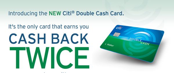 1 Cash Back For Purchases 1 Cash Back For Payments With The New Citi Double Cash Card