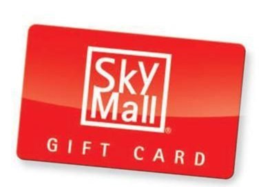 Blog Giveaway 200 In SkyMall Gift Cards