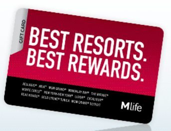 Blog Giveaway 250 Mlife Gift Card