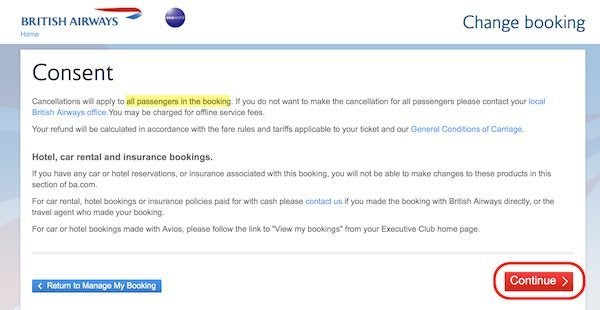 how to find booking reference number british airways
