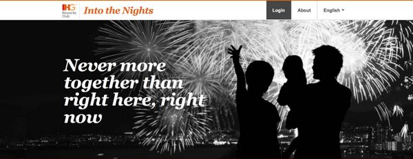 "Earn 50,000 IHG Points With the ""Into the Nights"" Promotion"