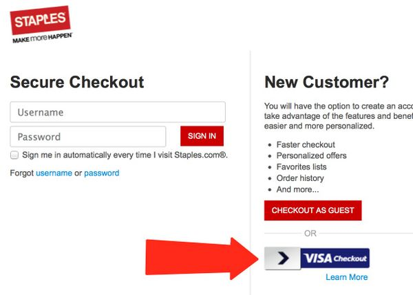 Expires Soon Save 25 At Staples.com With Visa Checkout Buy Visa Gift Cards