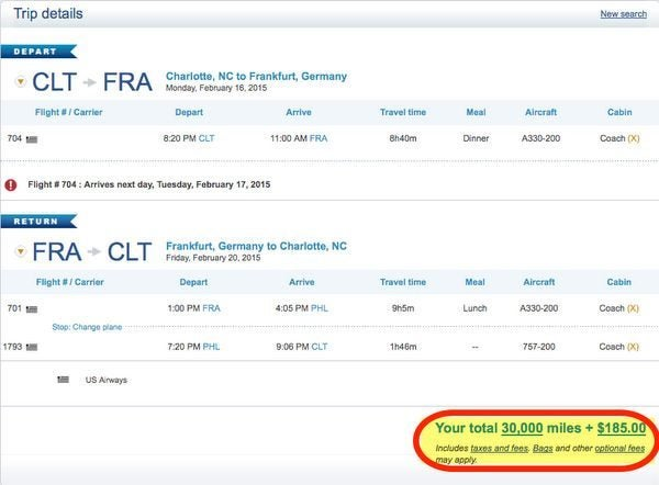 Fly To Europe This Winter For 35000 Miles Or Less