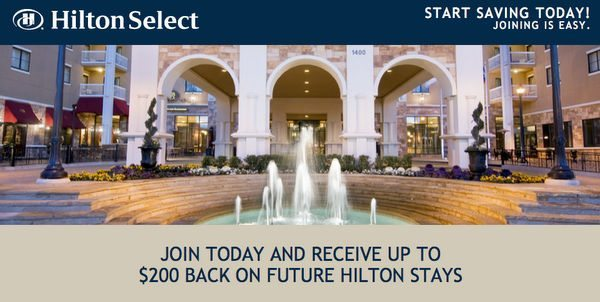 Hilton Select Discount and Rebate Program:  Worth It or Not?