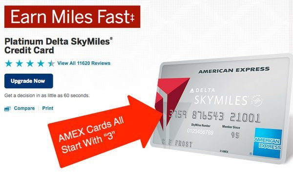 Trivia Time What Do The Numbers On Your Credit Card Mean