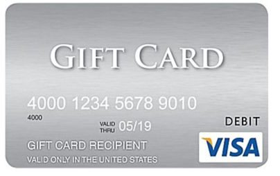 $20 Rebate on Purchase of $300 in Visa Gift Cards at Staples