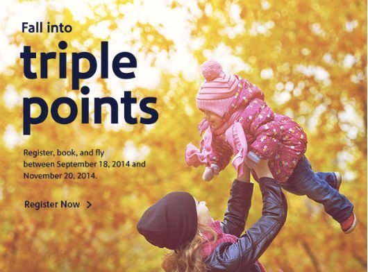 Earn Double Or Triple Southwest Points