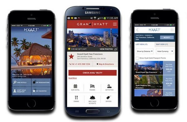 Get 1,000 Bonus Points When You Use Your Phone To Book Hyatt Stays