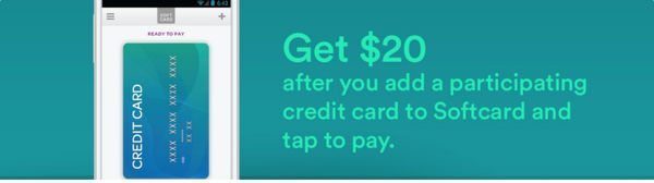 Get A 20 Amazon Gift Card For Each Card You Add And Pay With Softcard Isis Wallet