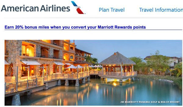 Is It Worth Transferring Marriott Points to American Airlines to Get a 20% Bonus?