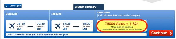 Making The Most Of The Chase Ink 70,000 Point Bonus Transfer to British Airways