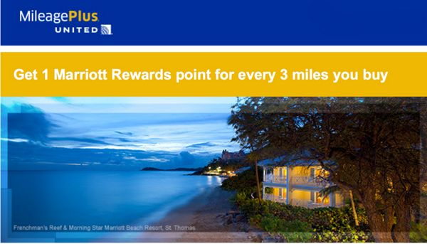 Why the Marriott & United Airlines Buy Points Promotion Is a Bad Deal!