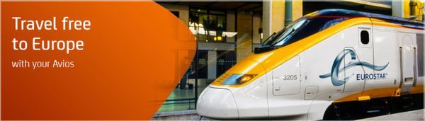 Use British Airways Points On The Eurostar Train
