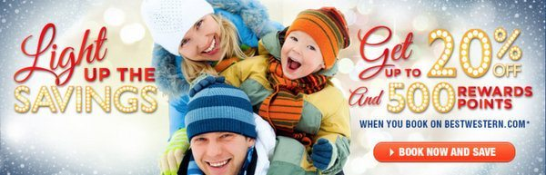 Blog Giveaway: $100 Best Western Gift Card and Winter Promotion!