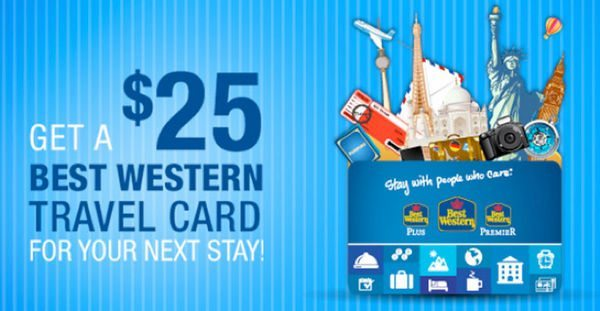 $100 Best Western Gift Card Winner