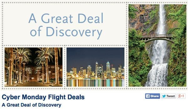 Cyber Monday Deal Round Up Free Gift Card Travel Discounts And More