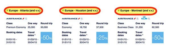Europe In The Spring For 25 To 50 Off With Flying Blue Promo Awards