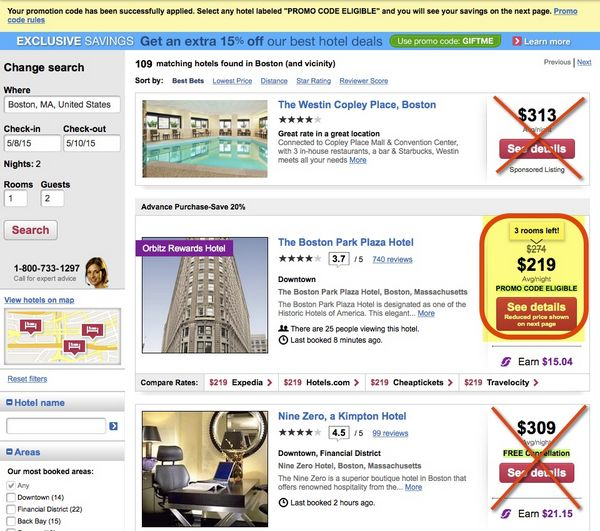 Get 100 Off 2 Night Hotel Stays Booked Through Orbitz With Visa Checkout