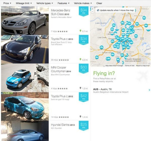 Is RelayRides A Good Deal For Car Rentals