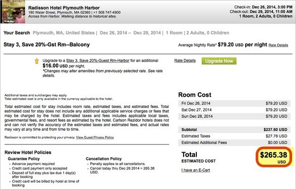 Is The Stay 3 Pay 2 American Express Promotion At Radisson A Good Deal