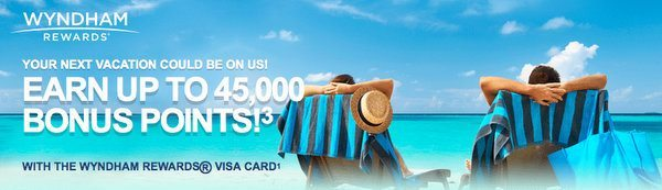 Limited Time:  Increased Bonus on Barclaycard Wyndham Rewards Cards